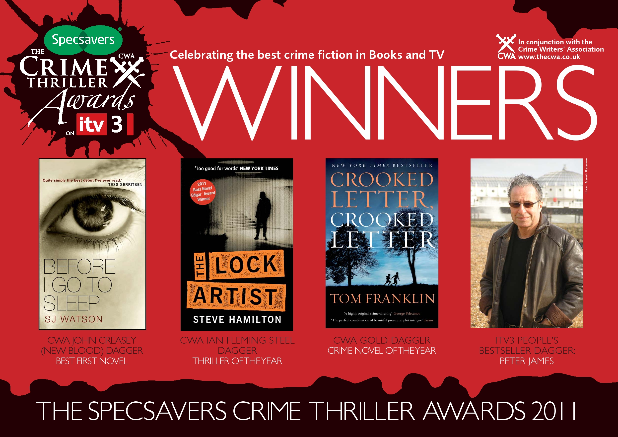 specsavers crime writing awards army