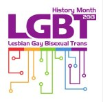 LGBT History Month 2013 logo